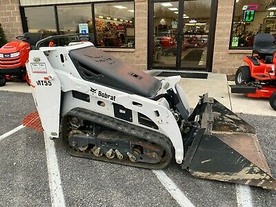 2015 Bobcat Mt55 Mini Track Loader 25 Hp Kubota Front Hydraulics Bucket 217 Hrs