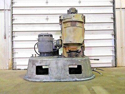 Rx-4190 Raymond Vertical Hammer Mill System Pulverizer W Auger. 20 Hp.