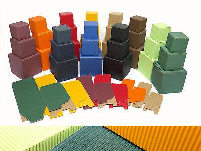Geschenkkarton Faltschachtel Pappschachtel Schachteln Geschenkbox Karton Würfel