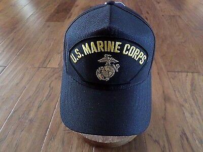 U.S MARINE CORPS HAT OFFICIAL U.S.M.C MILITARY BALL CAP EGA U.S.A (Marine Corps Ball)