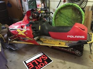 2002 Polaris edge 700 wit m-10 suspension