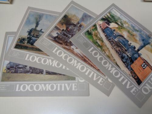 Locomotive Quarterly (4 Issues) 1977-1984 Illustrated Railroad History