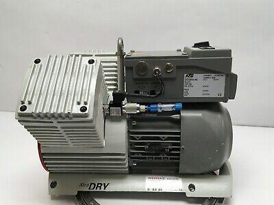 Pfeiffer Xtradry 150-2 Dual Piston Vacuum Pump Tested