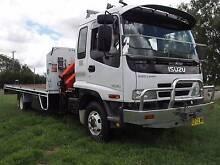 2006 Isuzu FRR 500 Long Crane Truck Inverell Inverell Area Preview