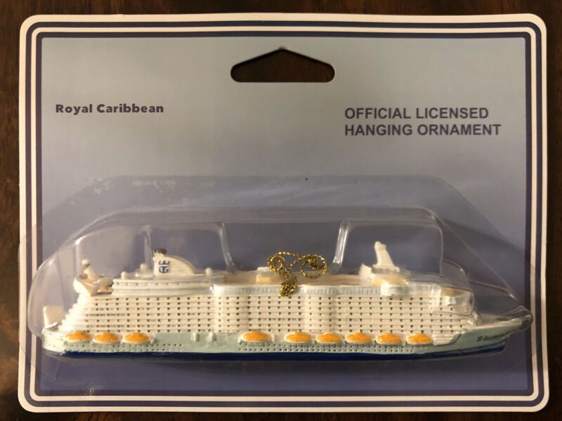 NEW Official Royal Caribbean Allure of the Seas Ship Ornament Christmas RCCL