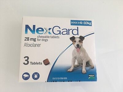 Flea And Tick Pills For Dogs 4-10 kg -- 8.8-22 lbs ❤️