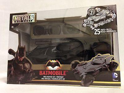 BATMAN V SUPERMAN - BATMOBILE, MODEL KIT 1:24 DIECAST METALS CAR, JADA TOY,BLACK