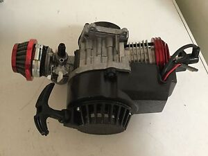 49CC 2 STROKE ENGINE CARBY PULL START MOTORBIKE POCKET BIKE MINI Enfield Port Adelaide Area Preview