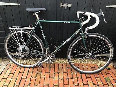 22' Dawes Galaxy Men's Touring Bicycle 21 Speed Shimano STX Reynolds 531