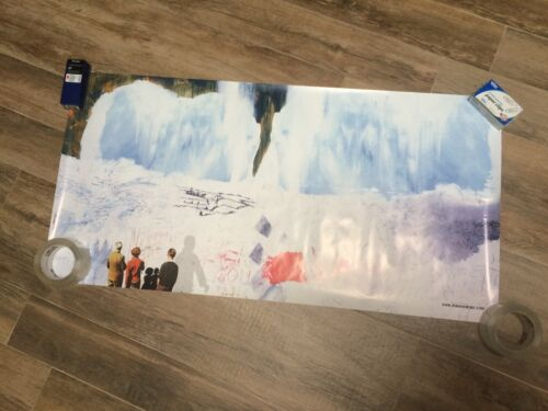 RADIOHEAD POSTER KID A PROMO  20 X 40 VERY GOOD CONDITION