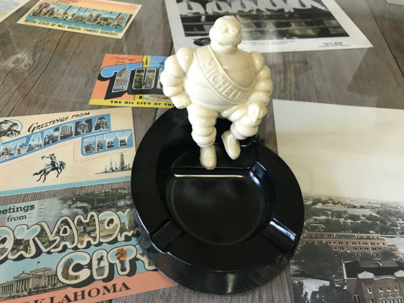 Vintage Michelin Man Ashtray - Mint Condition!