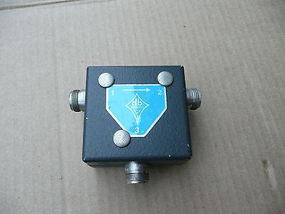 Decibel Products Db4642-1a Circulator Isolator 850-870 Mhz 100 Watts