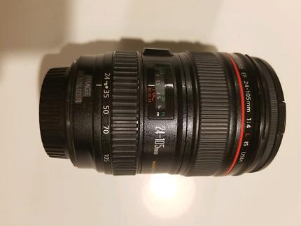 Canon 24-105mm L IS USM lens