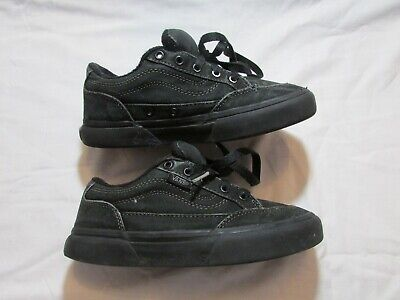 Vans Old Skool junior Black mono used size Kids Uk1.5