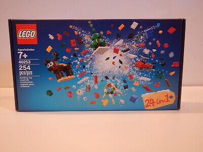 """Christmas Theme Lego 40253 """"24 in 1"""" 254 Pieces NICE!"""