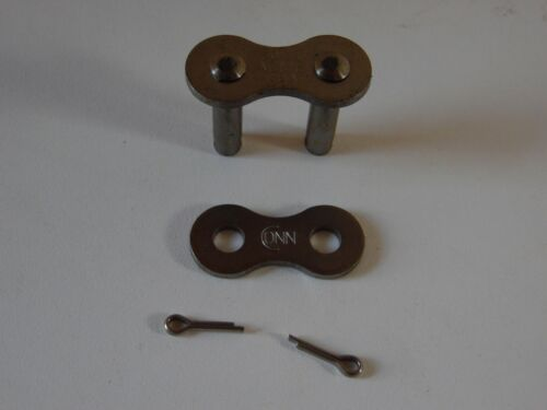 60 SS Stainless Steel Roller Chain Connecting Link ACME brand new