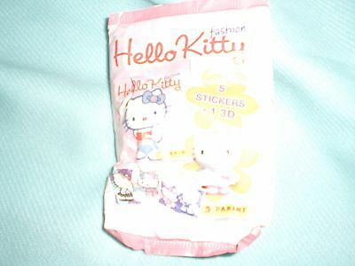 Hello Kitty 5 Sticker und 1 3D Figur Neu/OVP im Blister