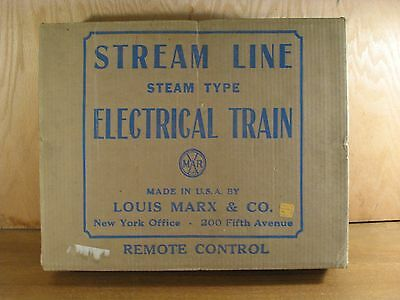 Marx 25050C Steam Freight Set Box