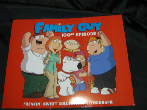 Family Guy 100th Episode Lithograph  Best Buy Exclusive Free Shipping