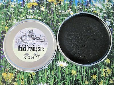 Herbal Pine Tar Salve With Activated Charcoal    2 Sizes