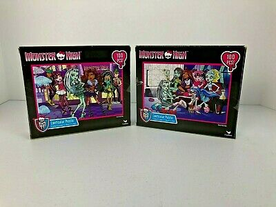 Monster High 100-Piece Puzzle Out on Town or Slumber Party](Monster High Party Games)