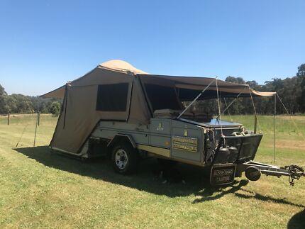 Aussie Swag Off Road Camper Trailer
