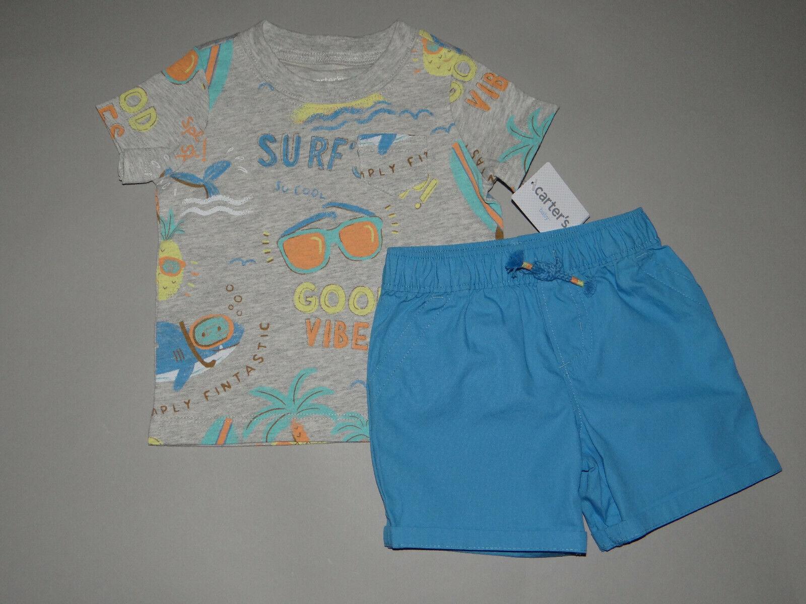 NWT, Baby boy clothes, Newborn, Carter's 2 piece set/~SEE DE