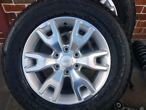 Ford ranger px wheels and factory suspension Abbotsbury Fairfield Area Preview