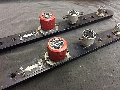 UNWIN KOLLER Quick release seat clamps brackets, van, bus, camper, minibus taxi