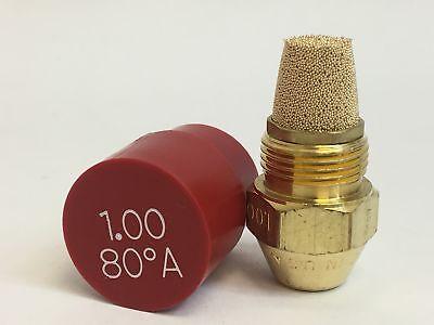 Set Of 12 Delavan Fine Filter Oil Burning Nozzle 1.00 80a 00100-80a1