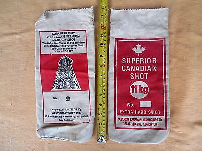Vintage Ammo Bag Canadian Shot West Coast USA Hunting Shooting Range No 9 Pouch