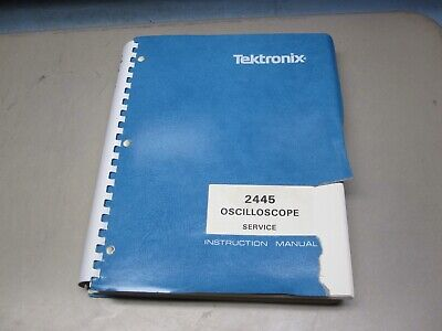 Tektronix 2445 Service Manual