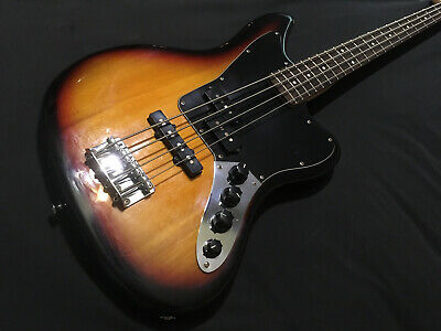 Fender Squier Vintage Modified Active Jaguar Precision Jazz bass guitar WOW NR!