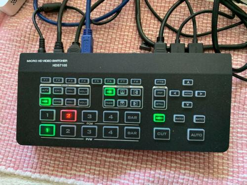 Micro HD Video Switcher HDS 7105