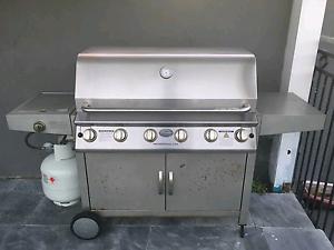 Jackeroo 6 Burner BBQ Heathcote Sutherland Area Preview