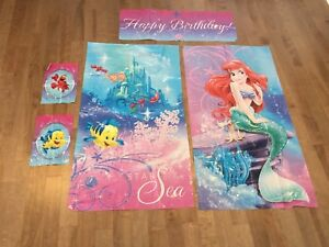 Disney the Little Mermaid Party Decorations