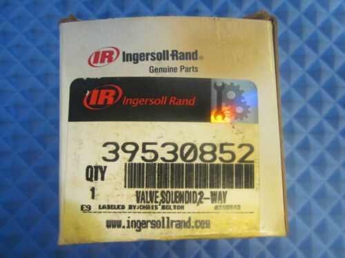 NOS Ingersoll Rand Solenoid Valve 39530852 120V 60Hz