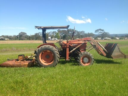 Fiat 500 4wd tractor from end loader slasher  Mullumbimby Byron Area Preview