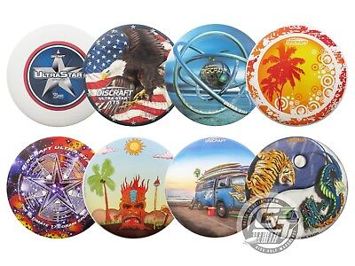 Ultrastar 175g Ultimate Disc (Discraft SuperColor ULTRA-STAR 175g Ultimate Frisbee Disc - PICK YOUR DESIGN )