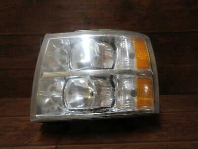 Chevrolet Silverado  /  2007 2008 2009 2010 2011 2012 2013  /  Left Headlight