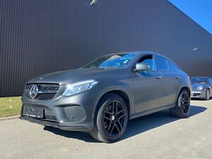 Mercedes-Benz GLE 500 Coupe AMG Distronic Night Matt Schwarz