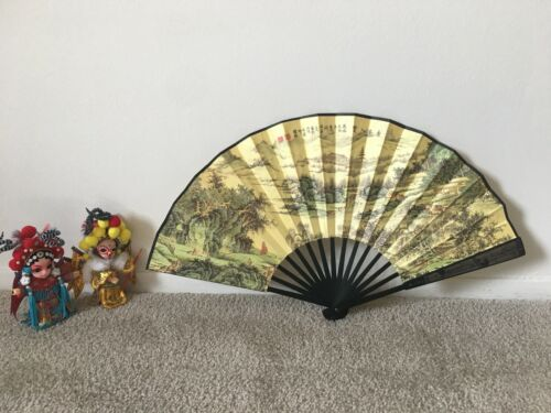 Authentic Famous Chinese Men Bamboo Fan Best Gift