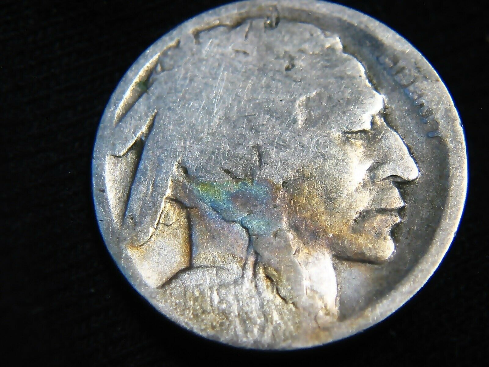 Restored Date 1918-D BUFFALO NICKEL 5 S H Only 99 1206 - $0.99