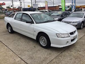 2006 Holden Crewman VZ DUAL CAB WHITE MANUAL 6 SPEED 4D UTE Lansvale Liverpool Area Preview