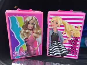 Toy Barbie Trunk ( sold as set)