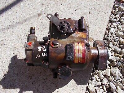 Massey Ferguson Super 85 Tractor Roosa Master Diesel Engine Motor Injection Pump