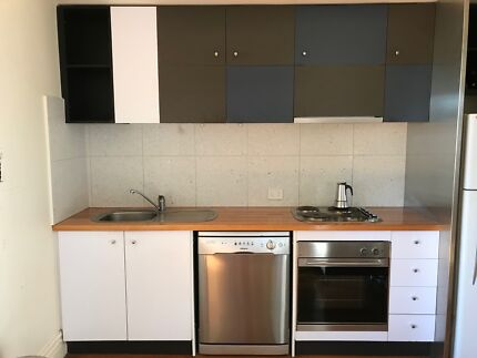 Complete kitchen - cupboards and appliances