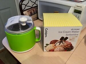 Ice cream and sorbet maker Cuisipro Donvier