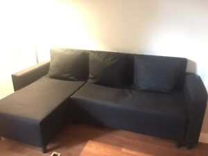 Super Functional Sofa Bed W/ Chaise Lounge and Storage!
