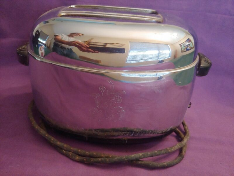 Antique Westinghouse Toaster Pop-Up TO-71 Works (A)